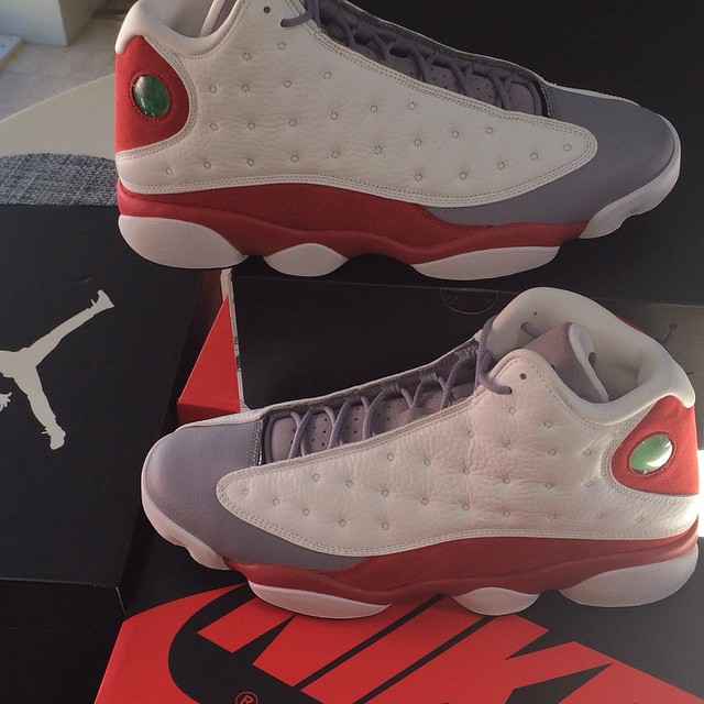 Fat Joe Picks Up Air Jordan XIII 13 Grey Toe