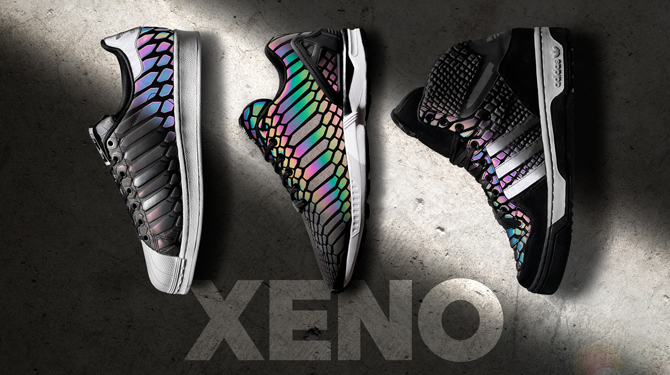 NEW Adidas ZX Flux Xeno Size 6.5 7 7.5 8 New 3m Reflective Boost