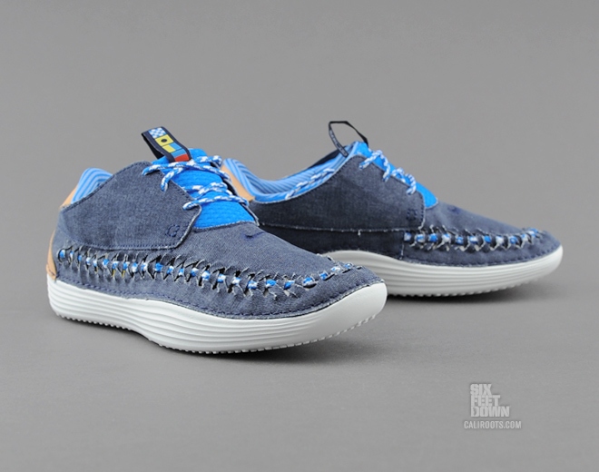 fondo Fracaso Adecuado  Nike Solarsoft Moccasin Woven PRM QS - Midnight Navy | Sole Collector