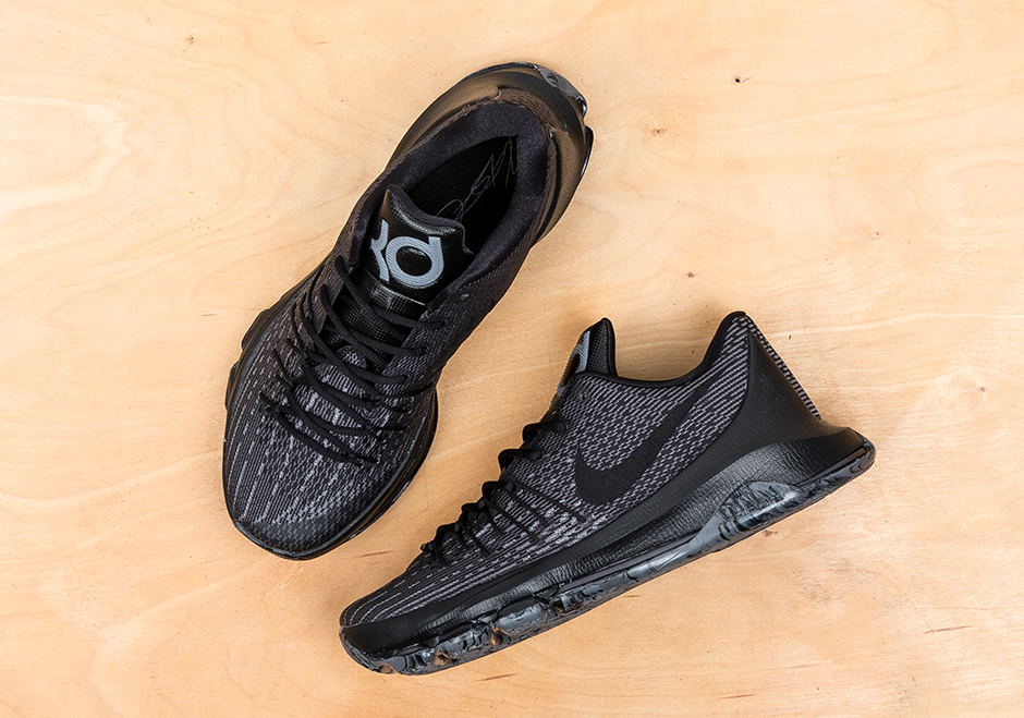 detailed look f87ba 564b9 Nike KD 8 Blackout 749375-001 (2)