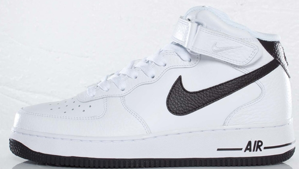 Nike Air Force 1 Mid White/Black