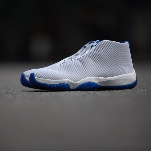 Air Jordan Future - Grey/Royal (1)