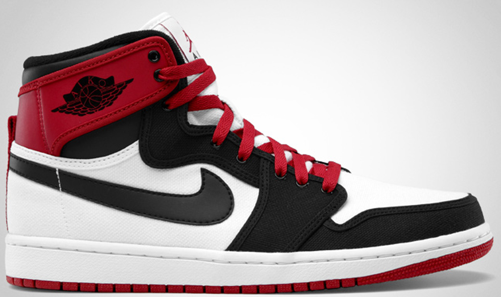 9ee5238c9c84e6 Air Jordan 1 Retro KO High  Black Toe  402297-110 White Black-Varsity Red
