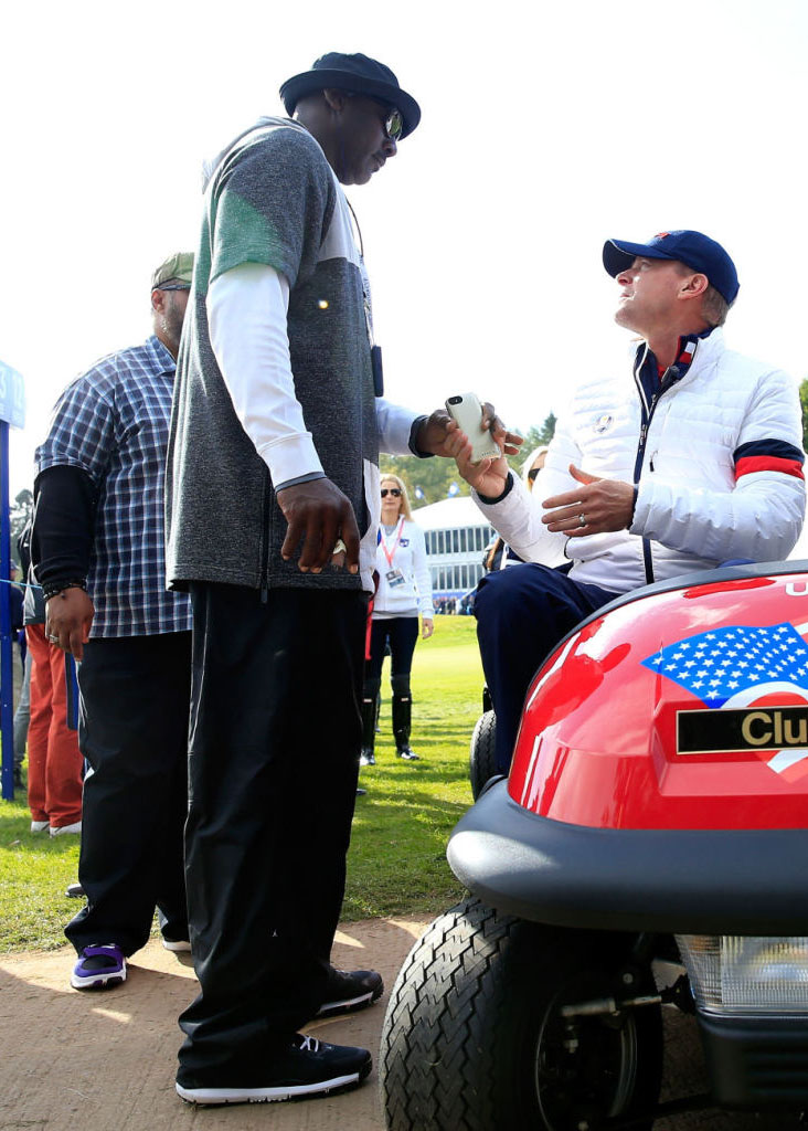 Photos of Michael Jordan Being Cool as Hell at the Ryder Cup Today (7)