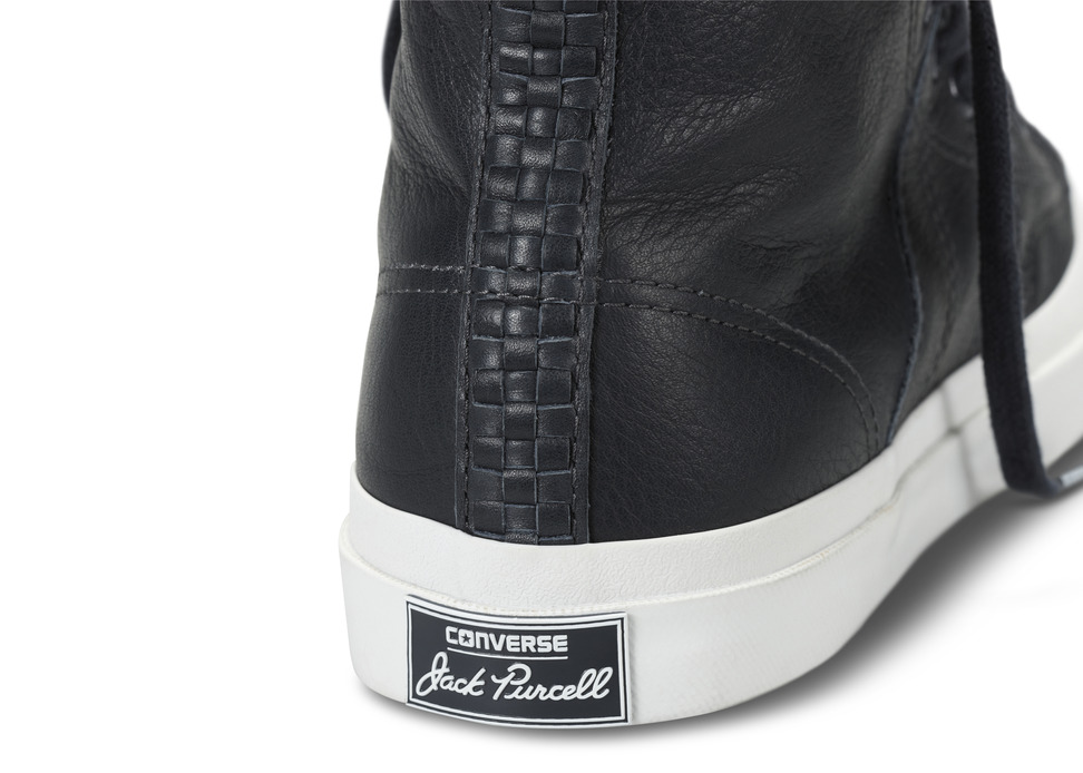 Neighborhood x Converse First String Jack Purcell Johnny heel detail
