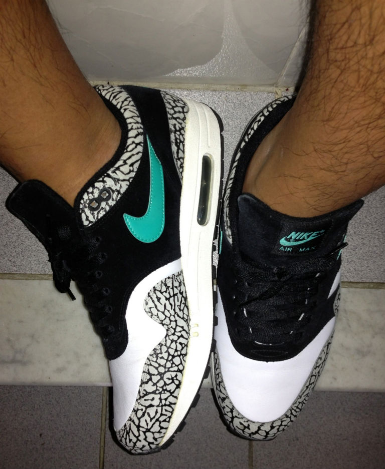 Spotlight // Forum Staff Weekly WDYWT? - 8.17.13 - Nike Air Max 1 Atmos by dannyiss