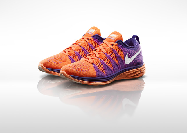 san francisco 0f095 b8241 Nike Flyknit Lunar 2 Atomic Orange