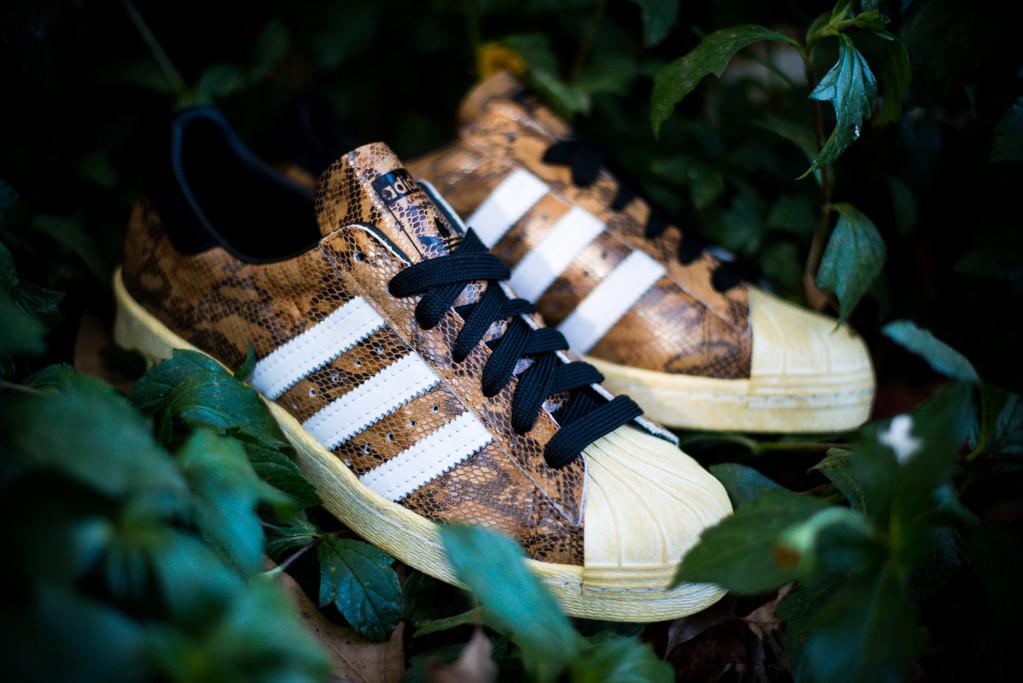 adidas Originals Superstar 80s Legacy Brown Snakeskin 66b189e74