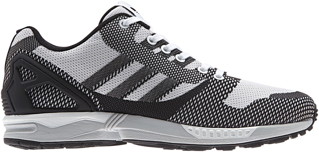 adidas ZX Flux 8000 Weave Pack Black White (1)