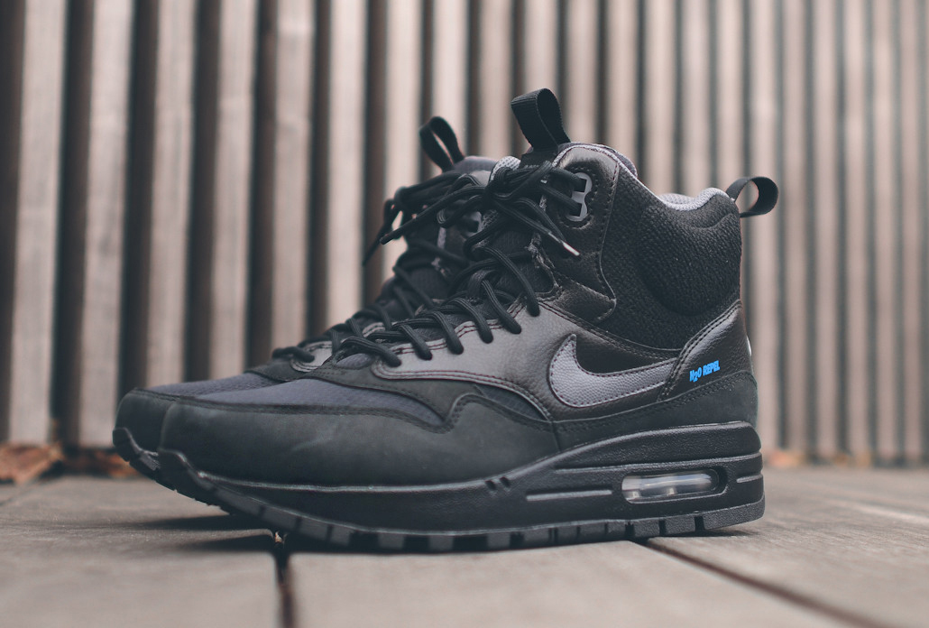 half off 502e4 3d23f This Nike Air Max 1 Sneakerboot is Water Repellant | Sole Collector