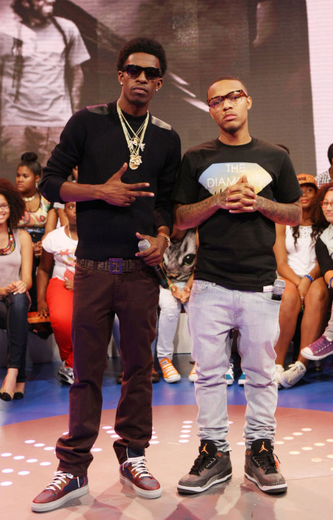 Bow Wow wearing Air Jordan III 3 Retro Fear Pack (1)