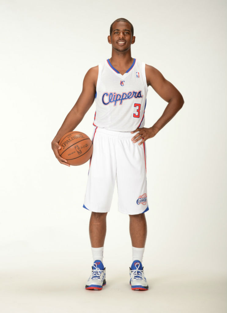 Chris Paul wearing Jordan CP3.VI