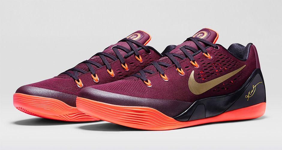 8fa60a757ff An Official Look at the  Deep Garnet  Nike Kobe 9