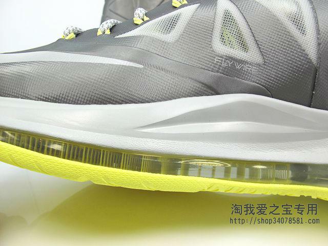 competitive price ac6dd ed6e4 Nike LeBron X Canary Yellow Diamond 541100-007 (9)