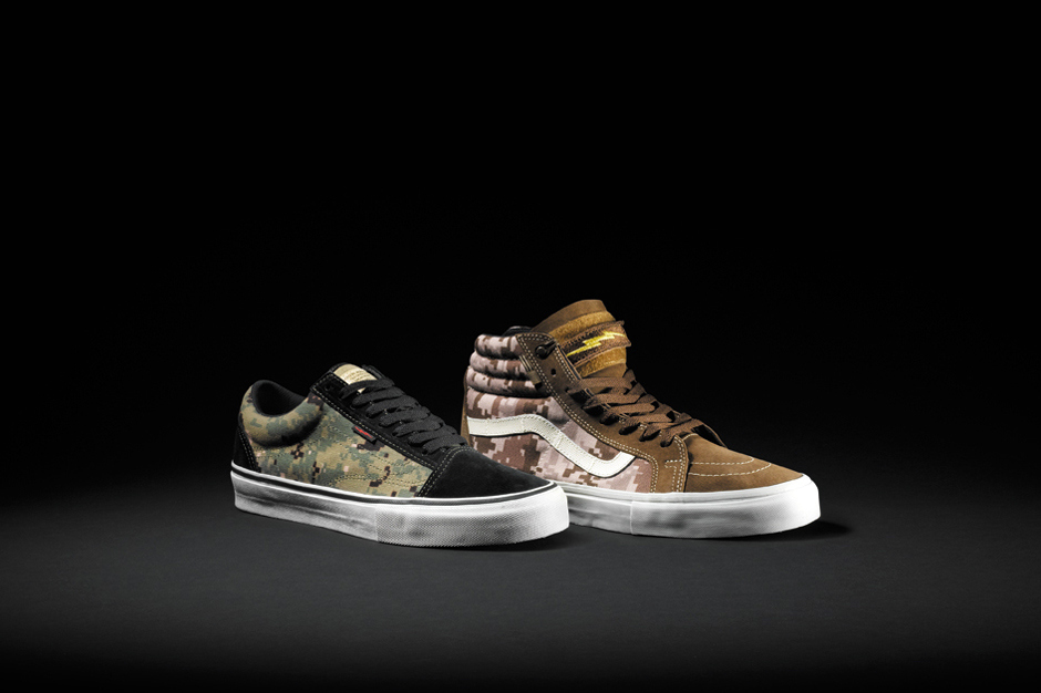 Top 10 Collaborations of October 2013 DEFCON x Vans Syndicate Digital Camo