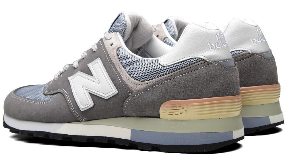 The New Balance 576SGA 25th Anniversary Edition is available now at End  Clothing. e0ba5267d98
