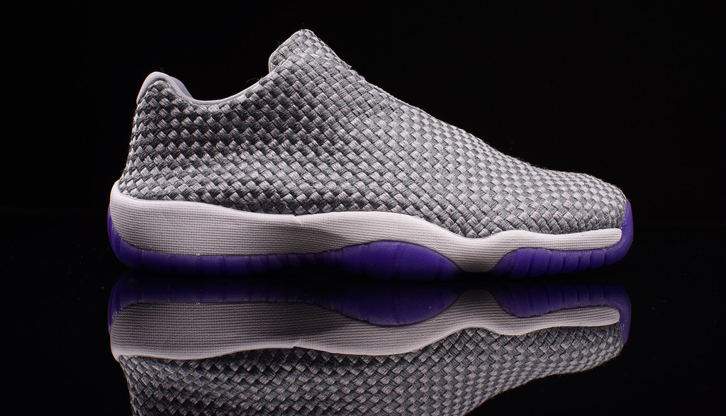 a490131bea7f31 This Girls Jordan Future Low is available now in extended gradeschool sizes  at select Jordan Brand retailers such as Oneness.