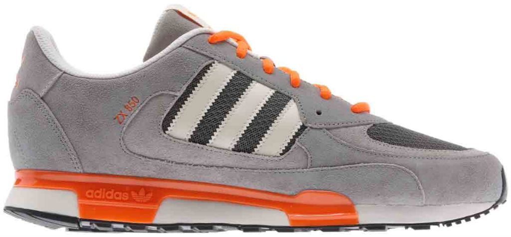 adidas Originals ZX850 Grey Orange Q22081