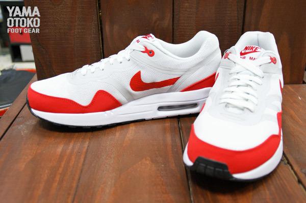 nike air max 1 red white