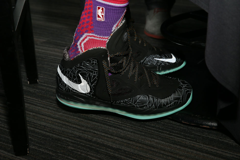 LaMarcus Aldridge wearing Nike Air Max Hyperposite Gumbo All-Star