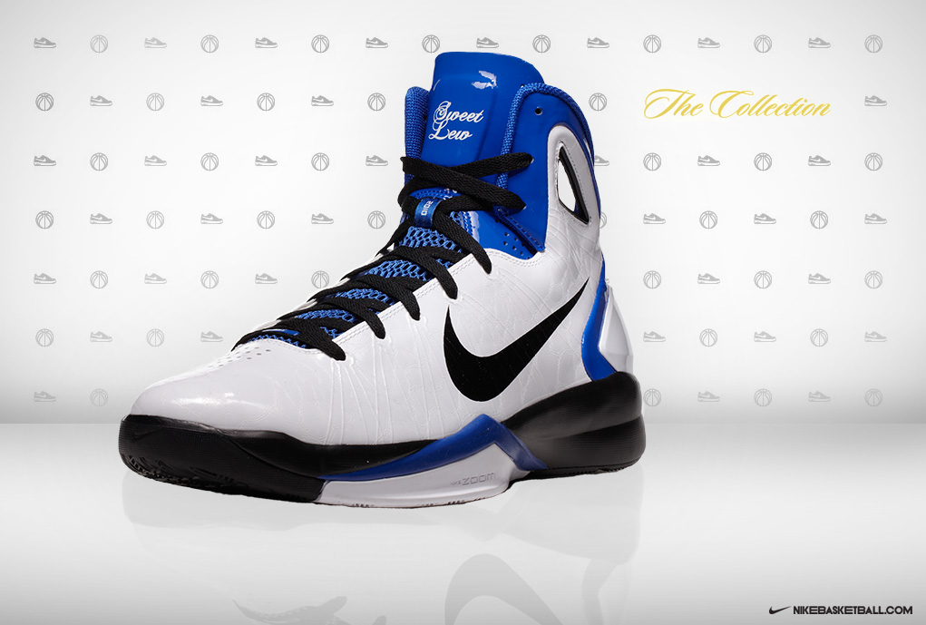 nike hyperdunk 2010 rashard lewis home pe sole collector