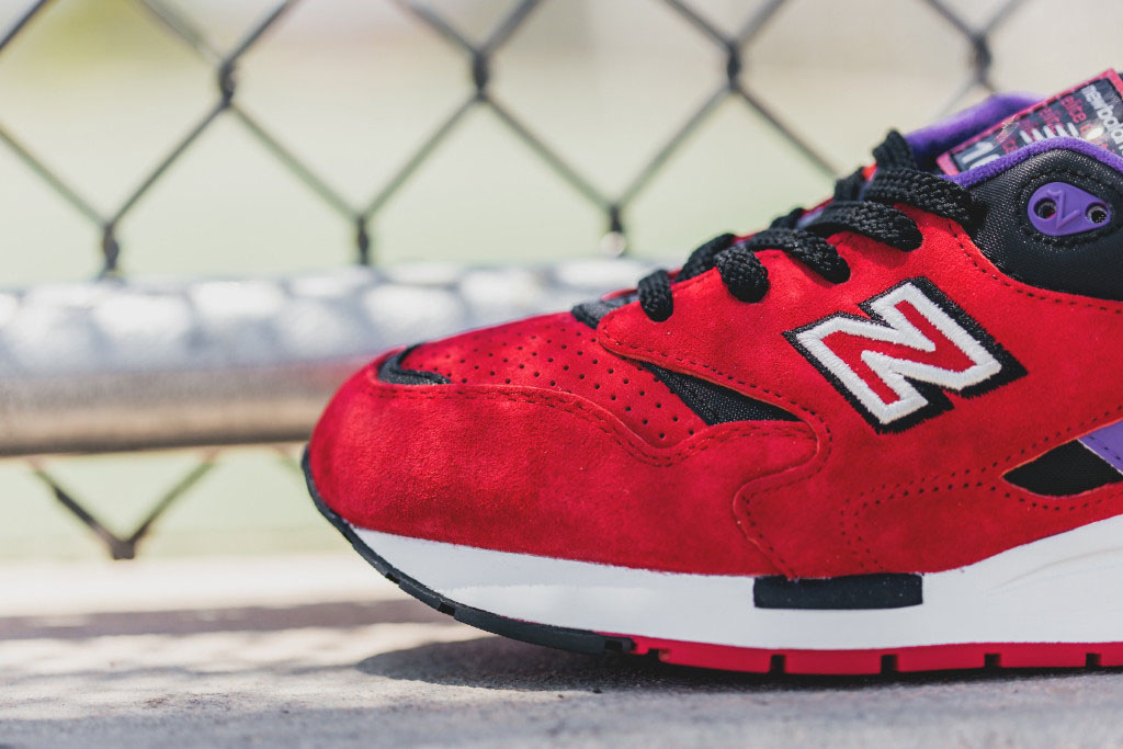 New Balance 1600 Pinball Red/Black-Purple (3)