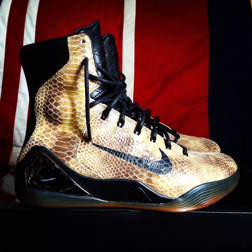 the latest ee763 70a12 The Snakeskin Nike Kobe 9 Hi EXT is Releasing   Sole Collector