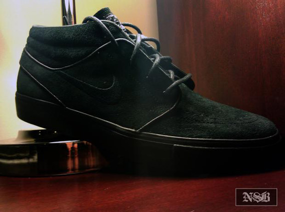 Look for this black build of the SB Zoom Stefan Janoski to arrive at select Nike  SB retailers this Fall. 57a82d464