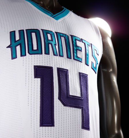 Charlotte Hornets Unveil New Uniforms for 2014-2015 Season (2)