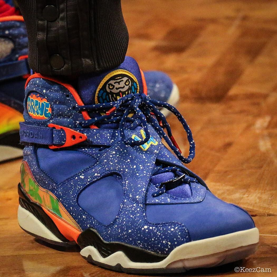 the best attitude c1217 0e70c SoleWatch: Tony Wroten Wears the 'Doernbecher' Air Jordan 8 ...
