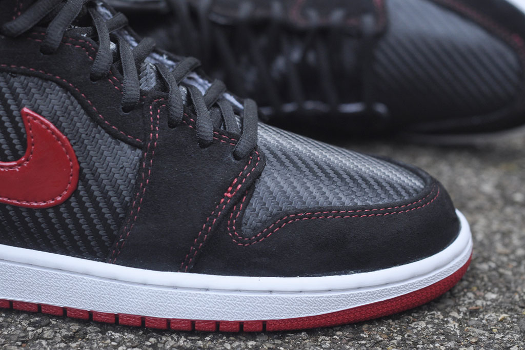 Air Jordan 1 Carbon Fiber, Suede & Patent Leather by JBF Customs (4)
