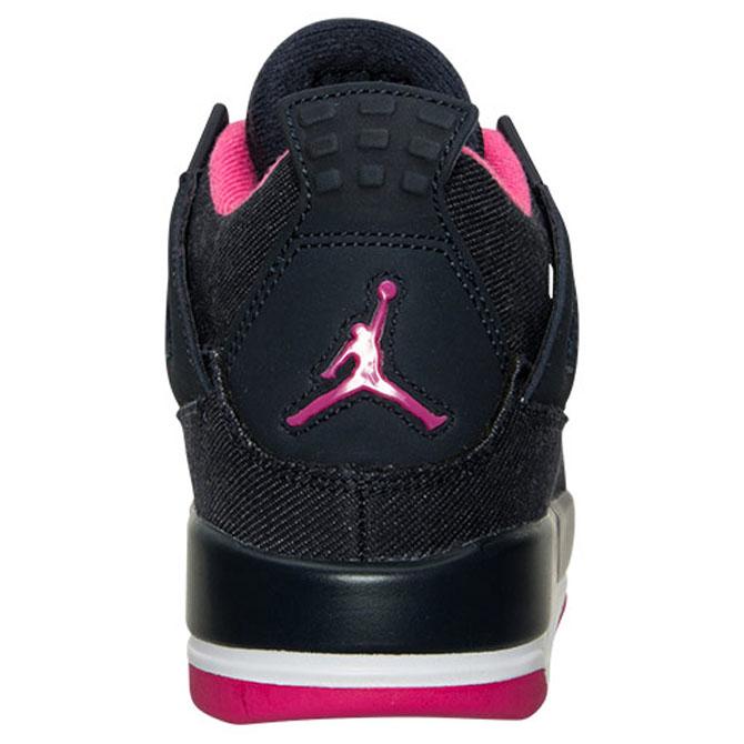 low priced 059a5 ad307 Air Jordan 4 Girls Denim 487724-408 (5)