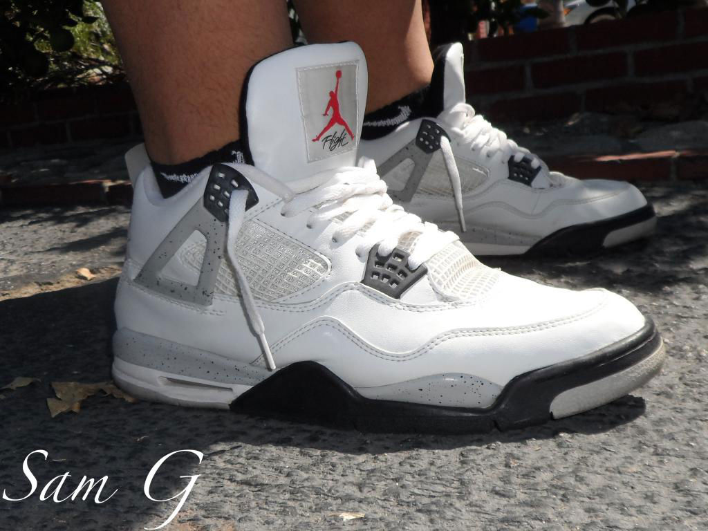 Spotlight // Forum Staff Weekly WDYWT? - 8.31.13 - Air Jordan IV 4 Retro Cement by lashoecolletor