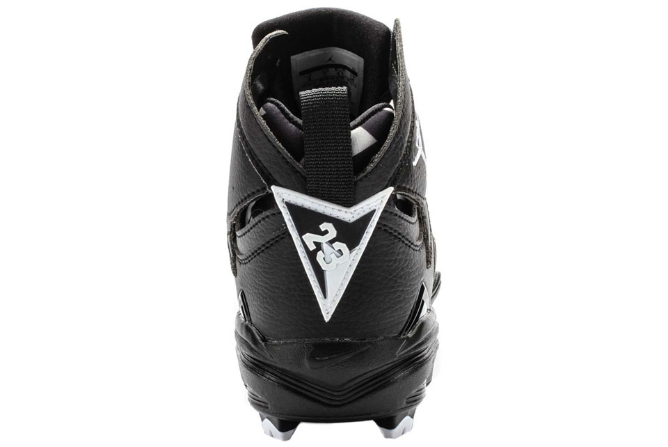 Air Jordan VII 7 Cleats Black White (3) f17a6a9f61