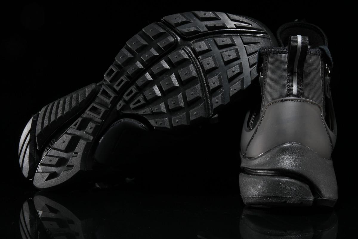 Image via Premier · Nike Air Presto Mid Utility Triple Black Sole 8de52045b