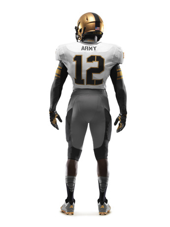114th Army Nike Uniform back