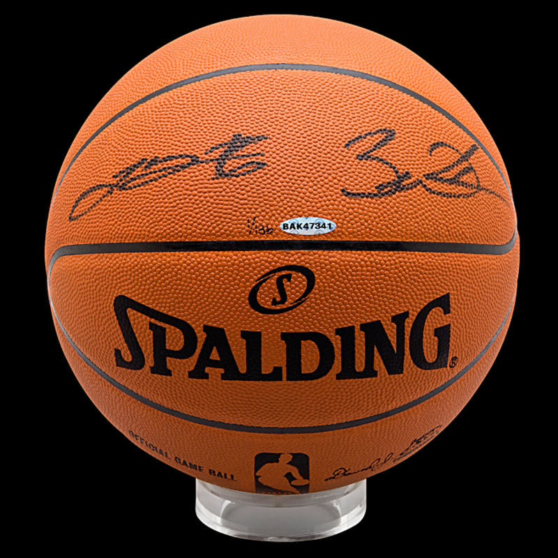 Dwyane Wade Authentic Autographed Basketball from Upper Deck