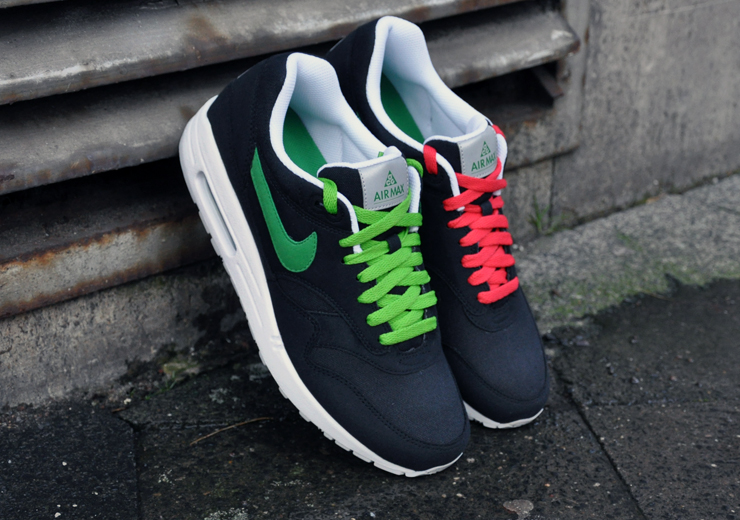 03e8c140ec Nike Air Max 1 ACG Pack - Black/Victory Green | Sole Collector
