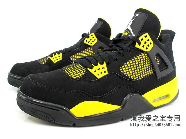 Air Jordan IV 4 Thunder 308497-008 (2)