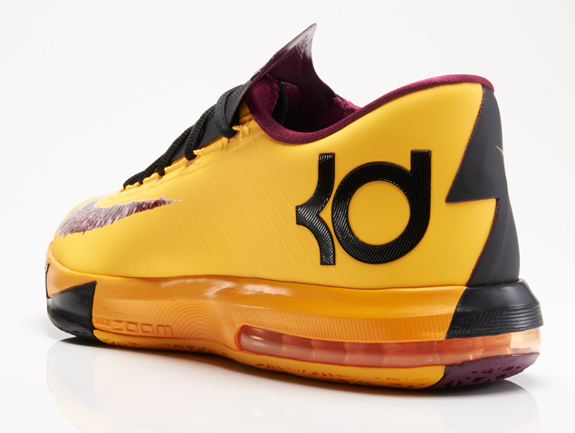 Nike KD VI 6 Peanut Butter and Jelly colorway