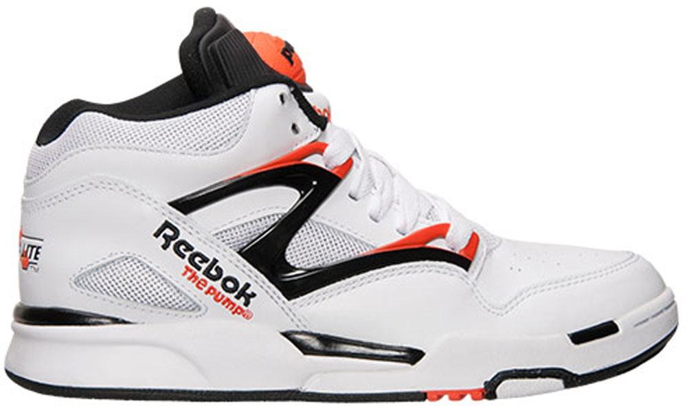 Reebok Pump Omni Lite QS White/Black-Solar Orange