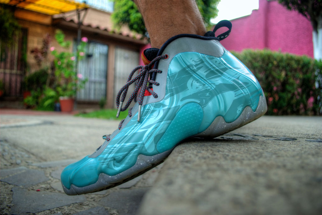azmodeuz6 in the 'Year of the Horse' Nike Air Flightposite Exposed