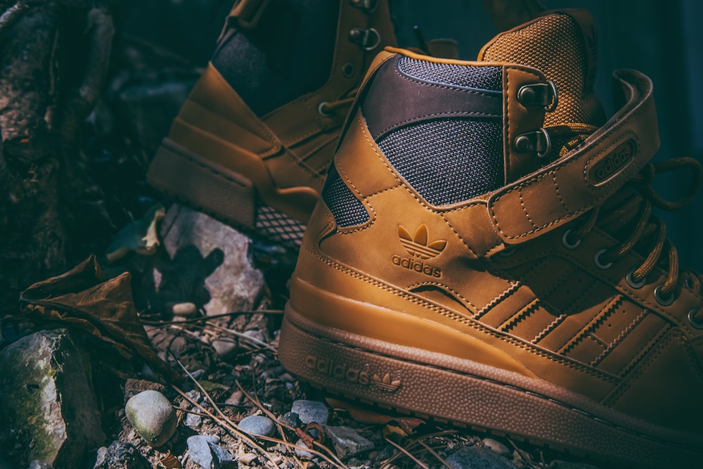 adidas Delivers a Timberland Inspired Forum Hi in Time for