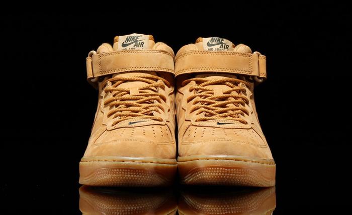 nike air force 1 mid flax 2014