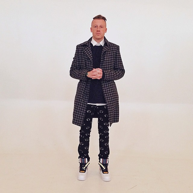 Macklemore wearing Nike Air Force 1 RT