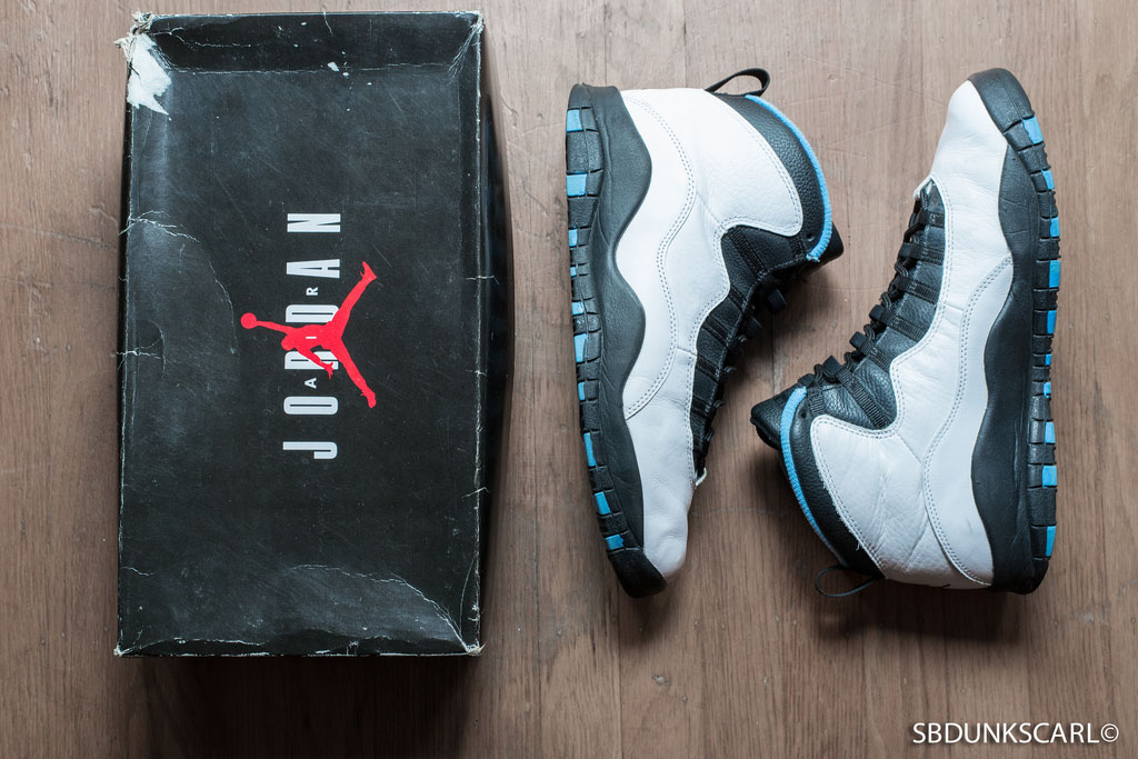 The Top 10 'UNC' Air Jordan Releases of All-Time - Air Jordan X 10 Powder