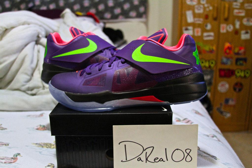 57bffb66d4ea Spotlight    Nike Zoom KD IV iD - July 2012