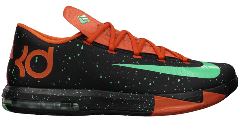 Nike KD VI NSW Lifestyle LE QS \u0026#39;People\u0026#39;s Champ\u0026#39; 621177-400 Denim/Ale Brown-University Red