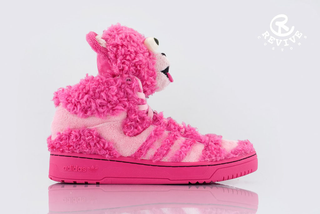 adidas Originals JS 'Bad BeAr' by Revive Customs (2)