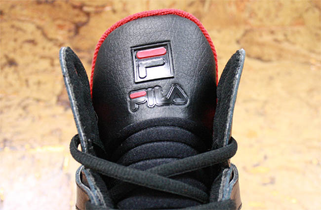 official photos b0768 0eb26 FILA Cage Black Red White (2)